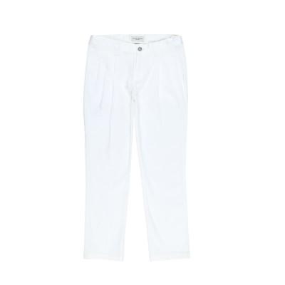 パオロ ペコラ PAOLO PECORA パンツ ホワイト 14 コットン 97% / ポリウレタン 3% パンツ