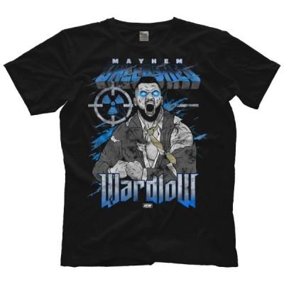 AEW Tシャツ「ワードロウ WARDLOW Mayhem Unleashed Tシャツ」AEW アメリカ 直輸入 プロレス プリントTシャツ《日本未発売品》