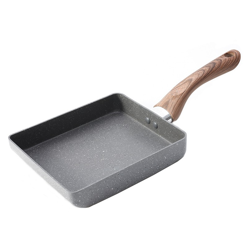 Mojito日式玉子燒不沾鍋 日本大金塗料 玉子燒鍋 煎蛋鍋 15X18cm 電磁爐可用
