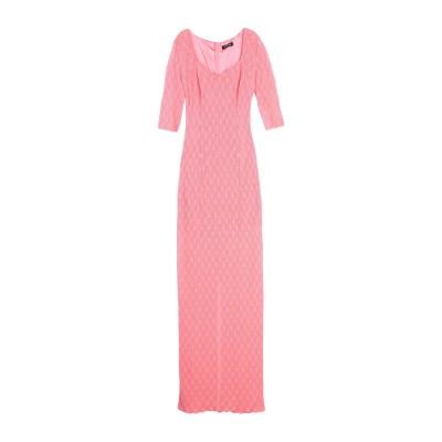 MARCIANO ロングワンピース&ドレス ピンク 44 コットン 70% / ナイロン 30% ロングワンピース&ドレス