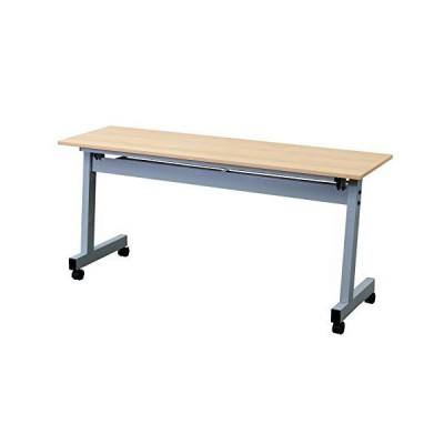スタックテーブル 跳ね上げ式会議テーブル 幅1500奥行450高さ700mm 平行スタッキングテーブル 会議用ミーティン?