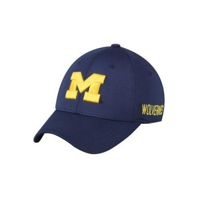 大学 NCAA トップ オブ ザ ワールド Top of the World Michigan Wolverines Navy Choice Flex Hat