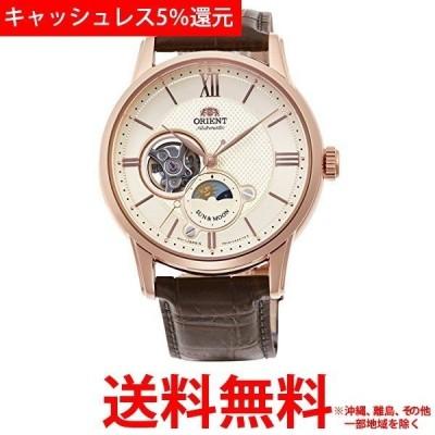 オリエント時計 オリエント Orient クラシック SUN&MOON セミスケルトン RN-AS0002S
