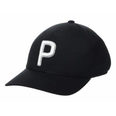 プーマ メンズ 帽子 アクセサリー P 110 Cap PUMA Black