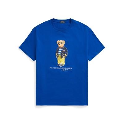 POLO RALPH LAUREN T シャツ ブルー XS コットン 100% T シャツ