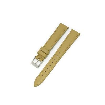 CASSIS[カシス] カーフ 時計ベルト 裏面防水素材 CANNES カンヌ 本革 レザー 14mm ベージュ 交換用工具付き D1021