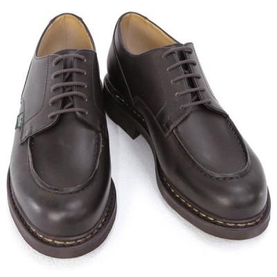 パラブーツ PARABOOT 靴 メンズ CHAMBORD シャンボード  ビジネスシューズ レースアップシューズ ブラウン (710707 CHAMBORD CAFE) 2020年秋冬