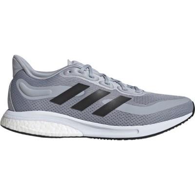 アディダス シューズ メンズ ランニング adidas Men's Supernova Running Shoes Grey/Black