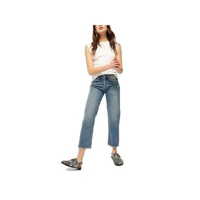 フリーピープル Fast Times High-Rise Mom Jeans レディース ジーンズ Indigo Blue