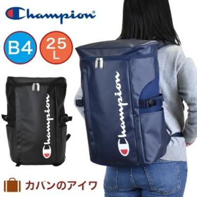 【数量限定エコバッグプレゼント】 チャンピオン リュック Champion バケット ボックス型 リュックサック 25L 62486 リュック デイパック