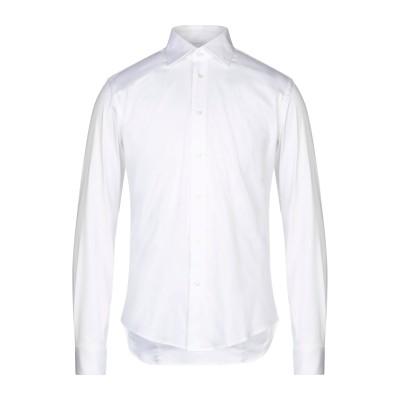 ブライアン デールズ BRIAN DALES シャツ ホワイト 43 コットン 80% / ナイロン 15% / ポリウレタン 5% シャツ