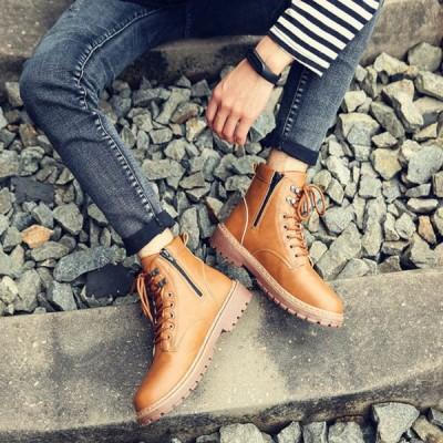 カジュアルシューズ 紳士靴 防水 安定感抜群 大きいサイズ メンズ 靴 ショートブーツ 安定感抜群 シューズ 疲れない 大人 ショートブーツ 靴  黒  疲れない