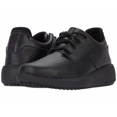キャタピラー オックスフォード シューズ レディース ProRush SR+ Oxford Black Action Leather