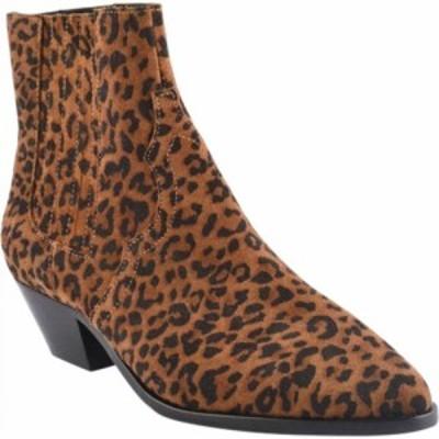 アッシュ ASH レディース ブーツ シューズ・靴 Future Leopard Print Bootie Tan Leopard Print Suede Leather