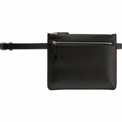 セオリー THEORY レディース ボディバッグ・ウエストポーチ バッグ leather belt bag Black