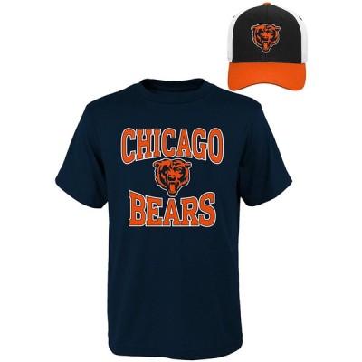 NFL Youthボーイズ半袖Tシャツと帽子セット Youth Boys Large(14-16) ブルー 並行輸入品