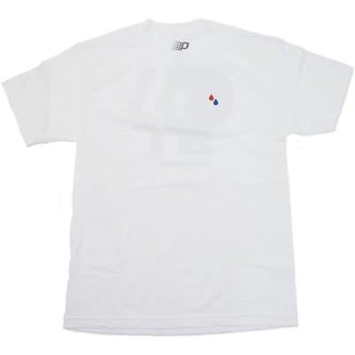 [並行輸入品] BRONZE 56k ブロンズ 56k Tear Drop ティアドロップ ロゴ Tシャツ (ホワイト)
