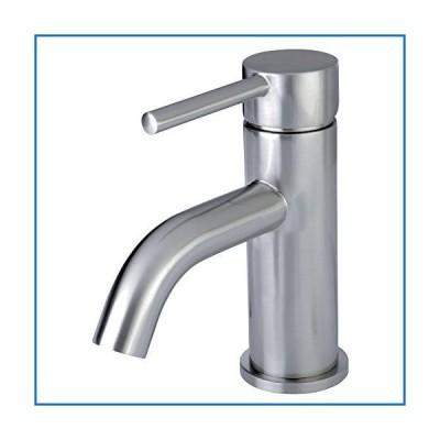 Kingston Brass LS8228DL Fauceture Concord Single Handle Monoblock Lavatory Faucet, Satin Nickel[並行輸入品]