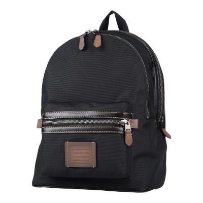 コーチ COACH バックパック&ヒップバッグ ブラック 紡績繊維 / 革 バックパック&ヒップバッグ