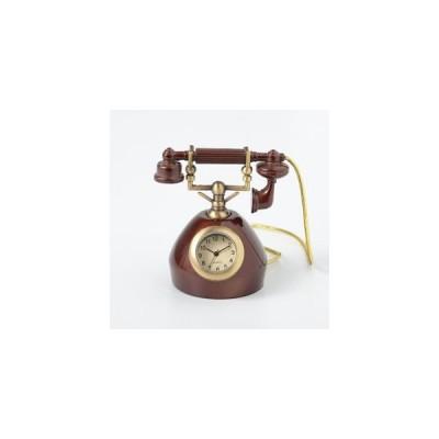 ミニチュアクロック Miniature Clock Collection電話機 C3539-BR 返品種別B