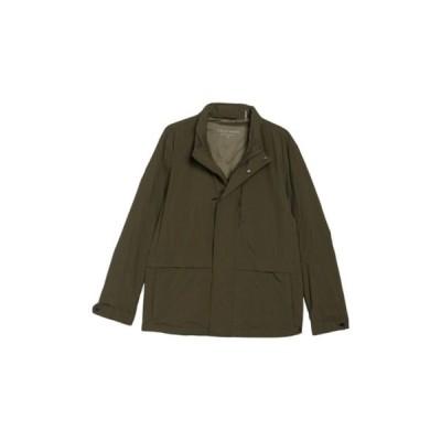 コールハーン メンズ ジャケット&ブルゾン アウター Packable Rain Jacket OLIVE