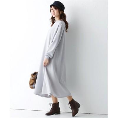 【大きいサイズ】 ぽこぽこエンボス加工Aラインワンピース ワンピース, plus size dress
