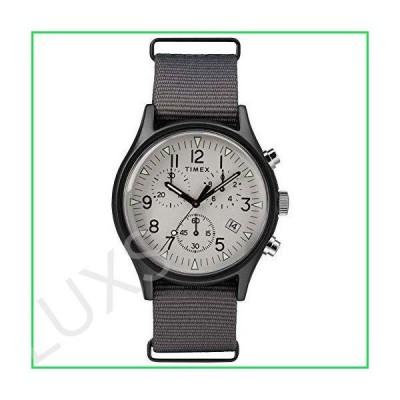 Timex 40 mm MK1 Aluminum Chrono Gunmetal Case White Dial Grey Nylon Gunmetal/White/Grey One Size 並行輸入品