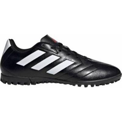 アディダス レディース スニーカー シューズ adidas Men's Goletto VII TF Soccer Cleats Black/White
