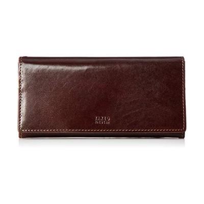 タケオキクチ 財布 エリア クロ 266618 チョコ