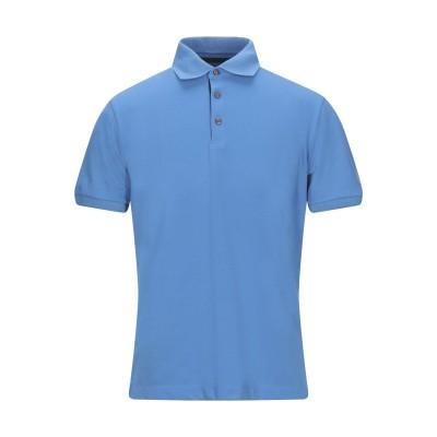 BEST COMPANY ポロシャツ アジュールブルー M コットン 50% / ポリエステル 50% ポロシャツ