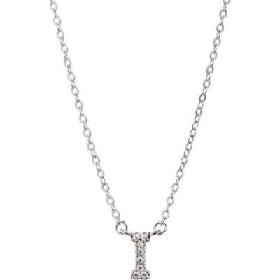 ノードストローム NORDSTROM レディース ネックレス ジュエリー・アクセサリー Delicate Cubic Zirconia Initial Pendant Necklace Clear/Silver