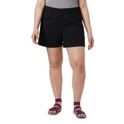 コロンビア レディース ハーフパンツ・ショーツ ボトムス Columbia Women's Firwood Camp II 5 Inch Short Black