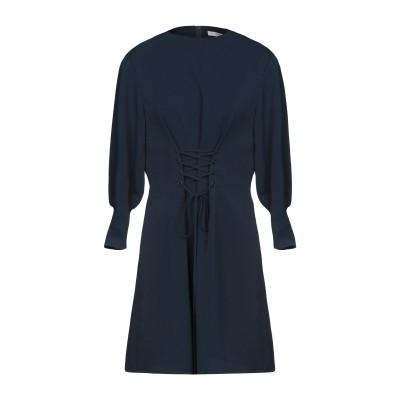 ティビ TIBI ミニワンピース&ドレス ダークブルー 8 100% ポリエステル ポリウレタン ミニワンピース&ドレス