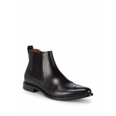ジバンシー メンズ シューズ ブーツ Stitched Leather Chelsea Boots
