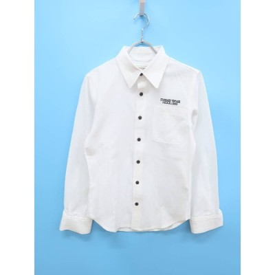 JACKROSE(ジャックローズ)刺繍シャツ 長袖 白 メンズ A-ランク 3 [委託倉庫から出荷]