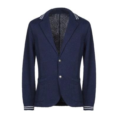 イレブンティ ELEVENTY テーラードジャケット ブルー L コットン 100% テーラードジャケット