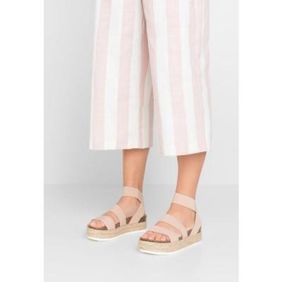 スティーブマデン レディース 靴 シューズ KIMMIE - Platform sandals - blush