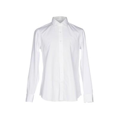 サルヴァトーレ・ピッコロ SALVATORE PICCOLO シャツ ホワイト 40 コットン 100% シャツ