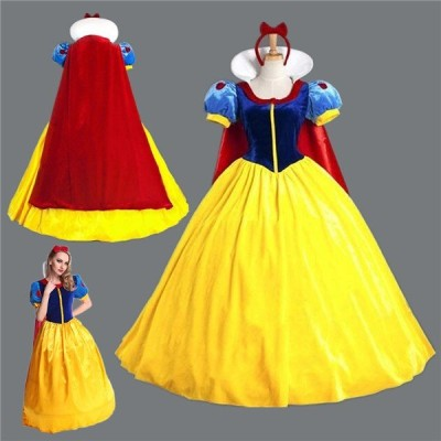 白雪姫 コスプレ 衣装 ハロウィン レディース 白雪姫 ワンピース ドレス 大人用 女王 魔女 コスプレ衣装 コスチューム 仮装 サンタ衣装 パーディーグッズ