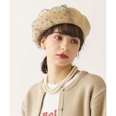 帽子 【カオリノモリ】ロマネコベレー
