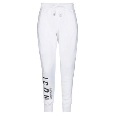 ディースクエアード DSQUARED2 パンツ ホワイト S コットン 100% / ポリウレタン パンツ