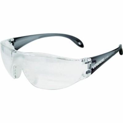 トラスコ中山 tr-3845028 YAMAMOTO 一眼型セーフティグラス レンズ色クリア テンプルカラーグレー JIS規格品 (tr3845028)