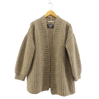 IENA 2017AW here British wool カーディガン ベージュ サイズ:- (なんば店) 201010