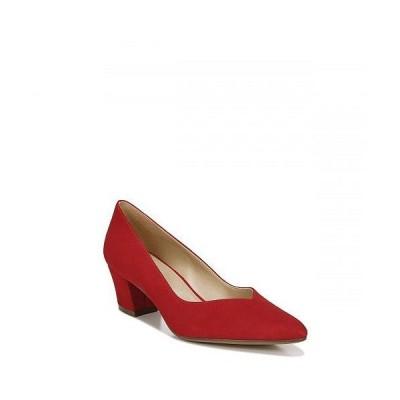 Naturalizer ナチュラライザー レディース 女性用 シューズ 靴 ヒール Mali - Blaze Red Suede