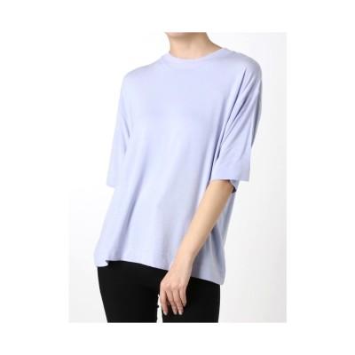 MURUA ベーシックTシャツ ラベンダー