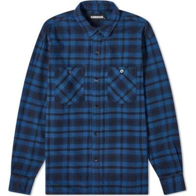 ネイバーフッド Neighborhood メンズ シャツ トップス Logger Shirt Blue