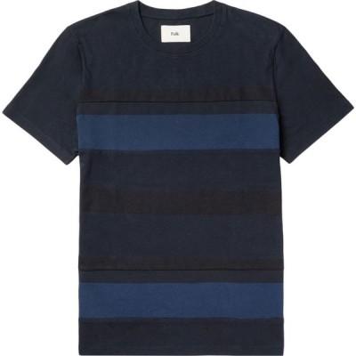 フォーク FOLK メンズ Tシャツ トップス t-shirt Dark blue