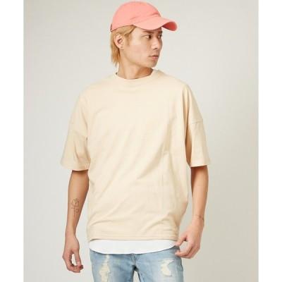 tシャツ Tシャツ ニュアンスカラー ビッグシルエット 半袖Tシャツ カットソー