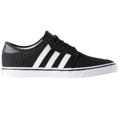 (取寄)アディダス メンズ スニーカー シーリー スケート スケートボード スケボー シューズ Adidas Men's Seeley Skate  Shoe Black/Whit