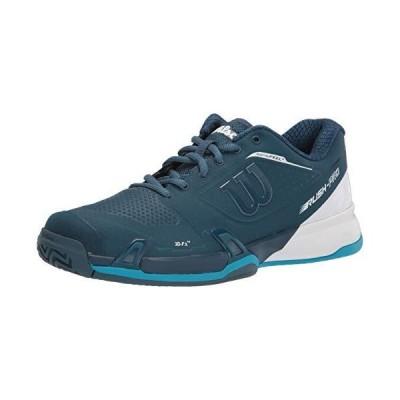送料無料!Wilson Men's Rush PRO 2.5 Tennis Shoe, Majolica Blue/White/Barrier Reef, 12